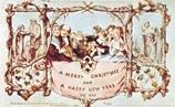 primeiro postal de natal